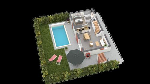 new villa M1 category T4