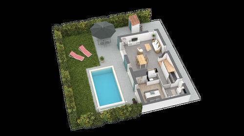 new villa M8 category T4